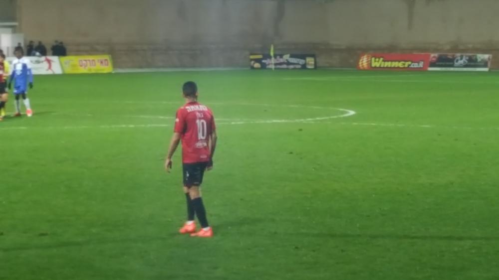 שער בכורה בליגת העל לעידן גולן בניצחון על הפועל עכו 0:1