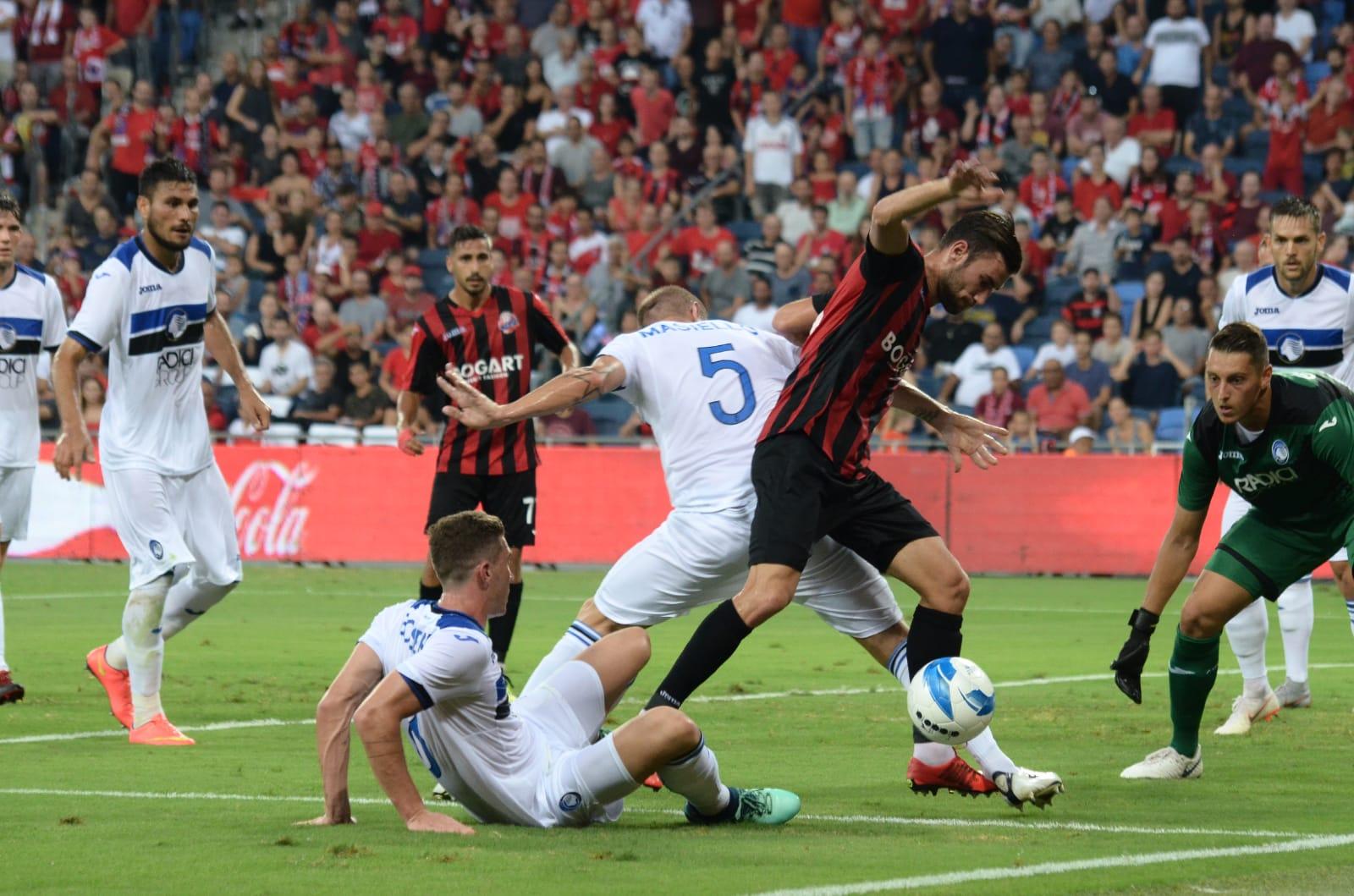 הפסד צורב להפועל חיפה 4:1 מול אטאלנטה במסגרת הסיבוב השלישי של מוקדמות הליגה האירופאית.