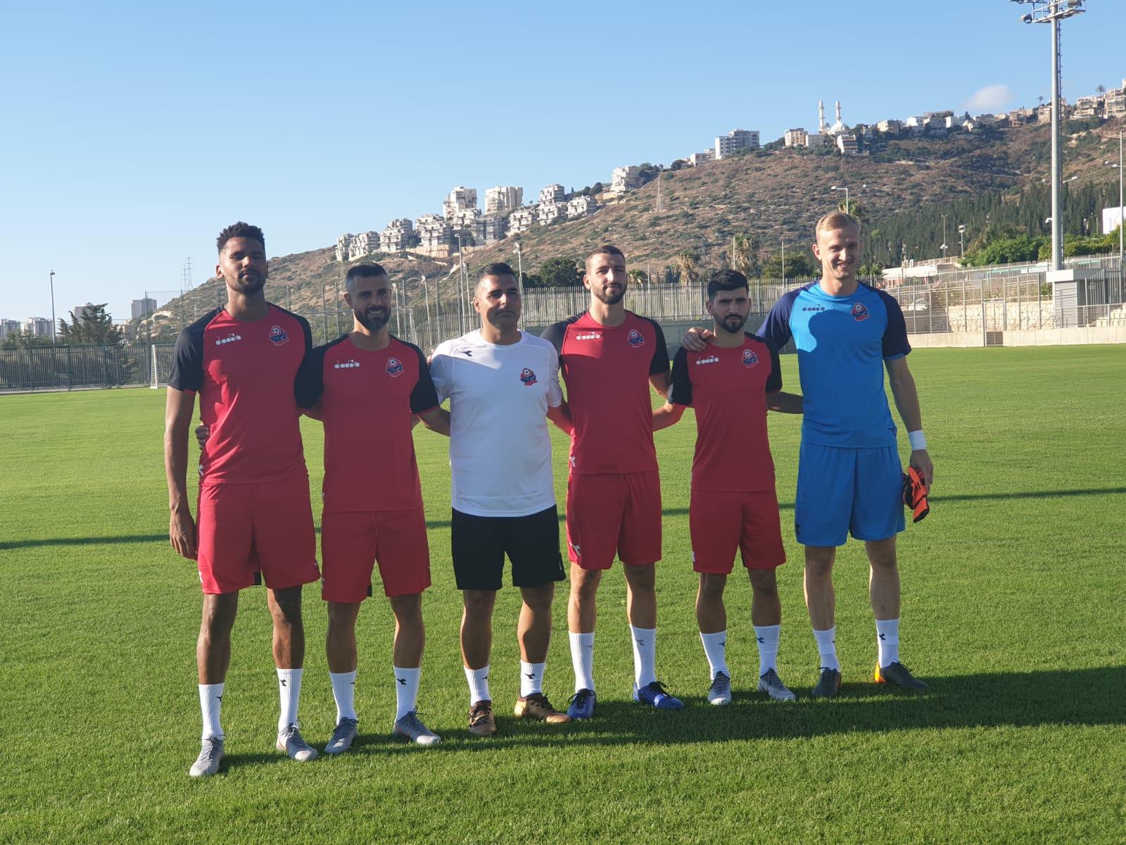 הפועל חיפה פתחה את האימונים עם חמשת שחקני החיזוק החדשים