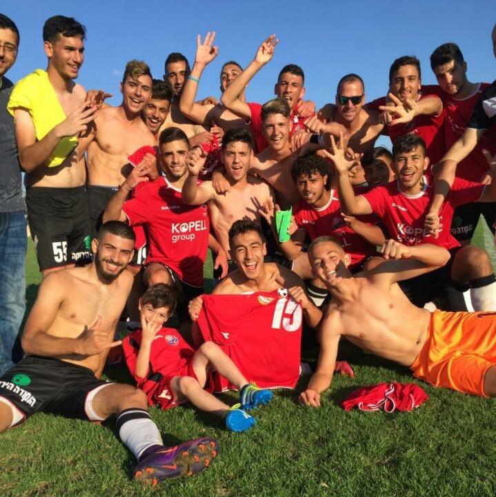 קבוצת נערים א' שבה לליגת העל