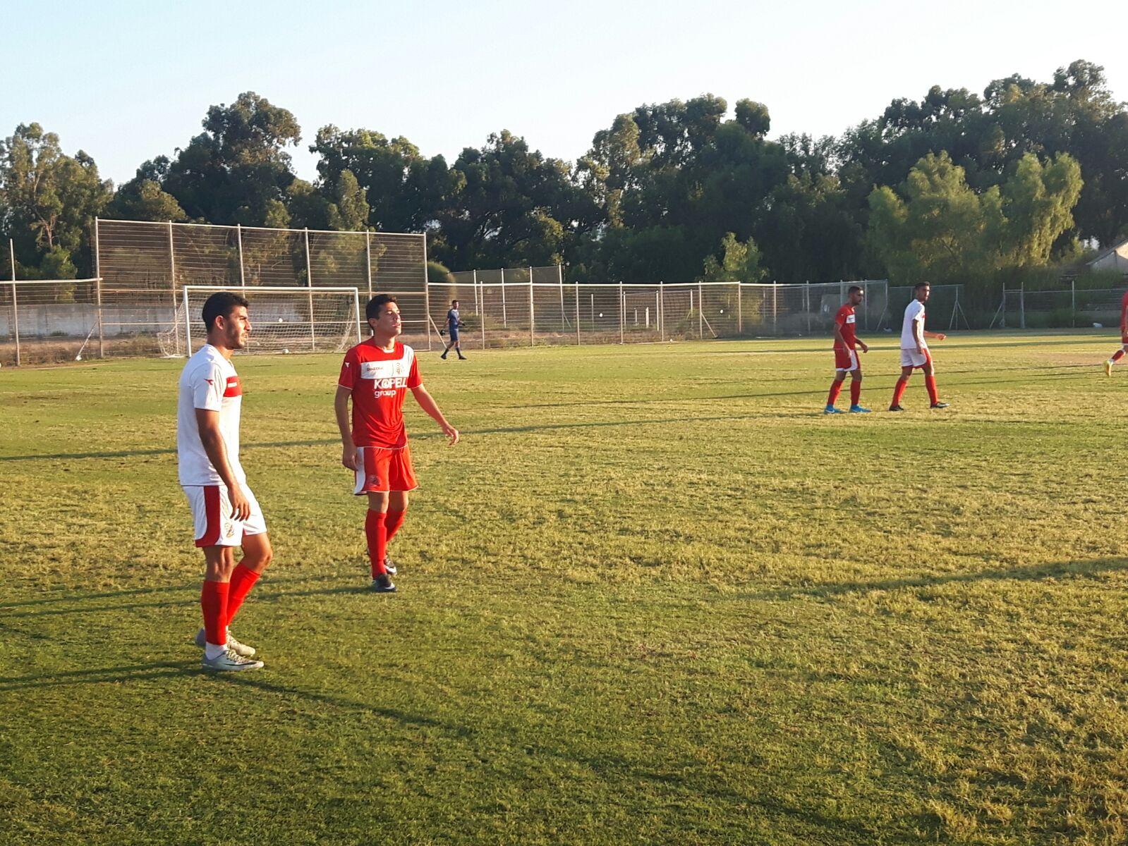 הפועל חיפה גברה היום במשחק אימון על קבוצת הנוער בתוצאה 1:6
